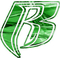 Green Shattered Chrome Ruff Ryders Decal / Sticker