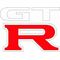 Nissan GT-R Decal / Sticker 01