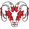 Canadian Flag Ram Decal / Sticker