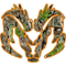 Heavy Timber Camo Ram Decal / Sticker