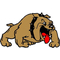 Bulldog Decal / Sticker 08fc
