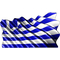 Greek Flag Waving Decal / Sticker