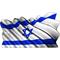 Israeli Flag Waving Decal / Sticker