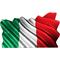 Italian Flag Waving Decal / Sticker